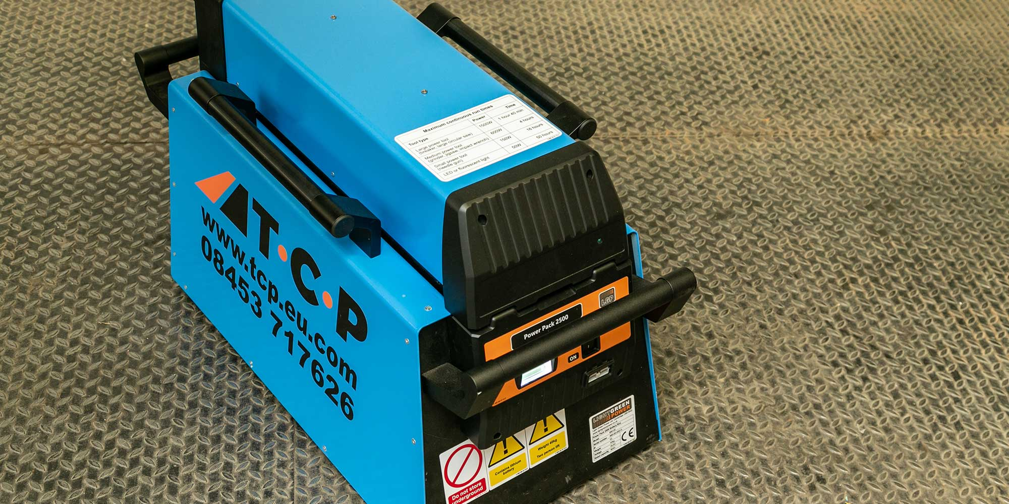 LGP 2500 5kVA battery power pack
