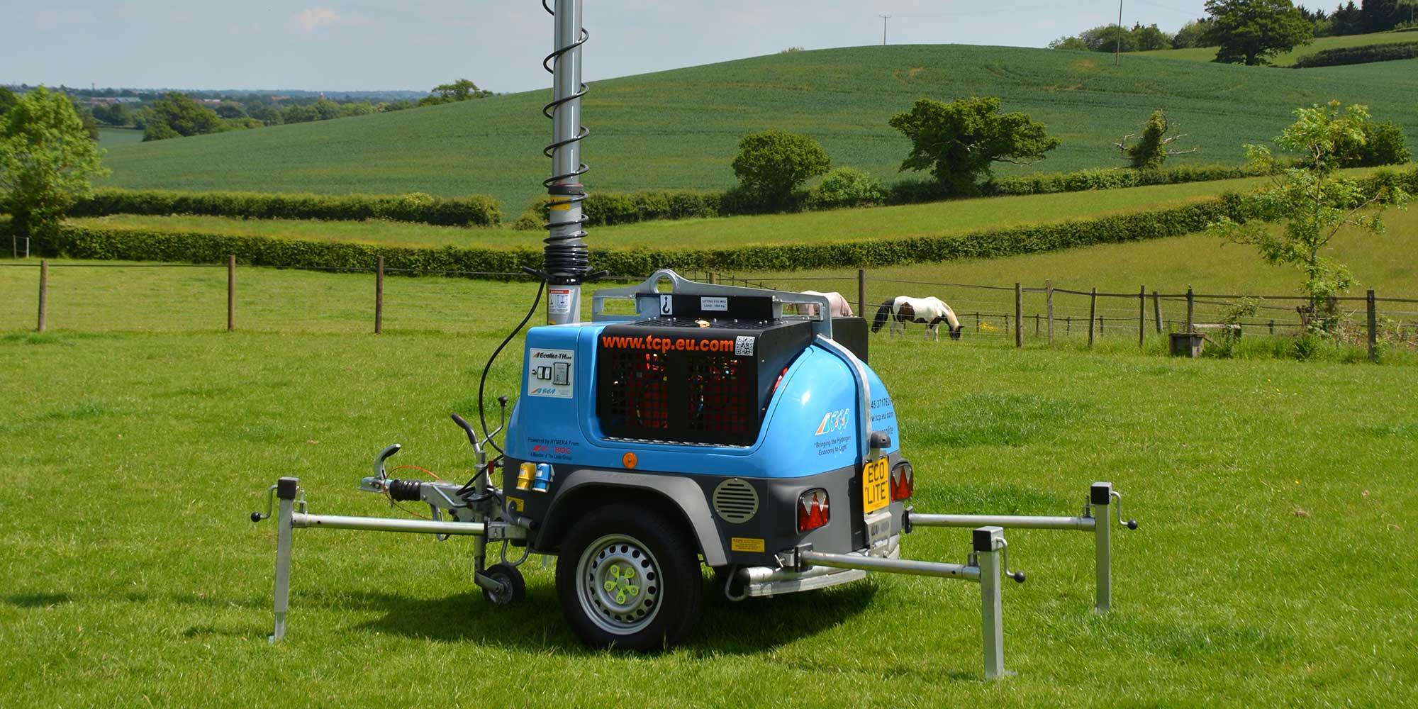 Ecolite TH200 hydrogen mobile lighting tower